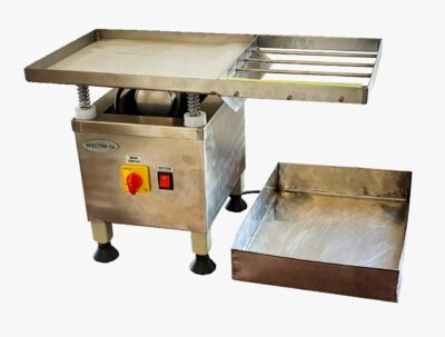 Spectra Vibrating Table | Spectra Chocolate Vibrating Machine - Spectra Melangers